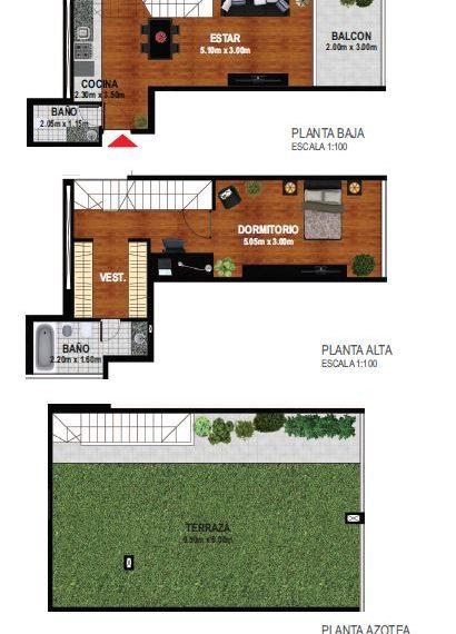 Duplex 1 dormitorio 2